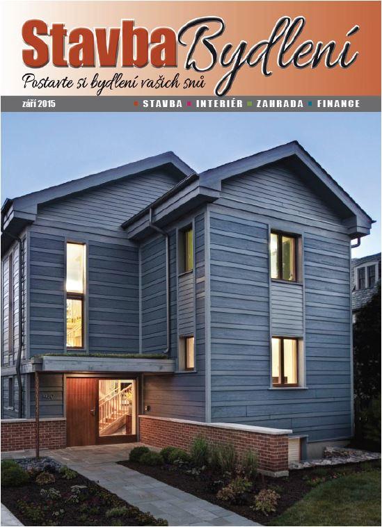 dřevo a časopis stavba bydlení