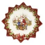 luxurytable-cz_toys-fantasy-podnos-na-cukrovi-hluboky-santa-s-detmi-39cm-villeroy-boch-cena-2120-kc