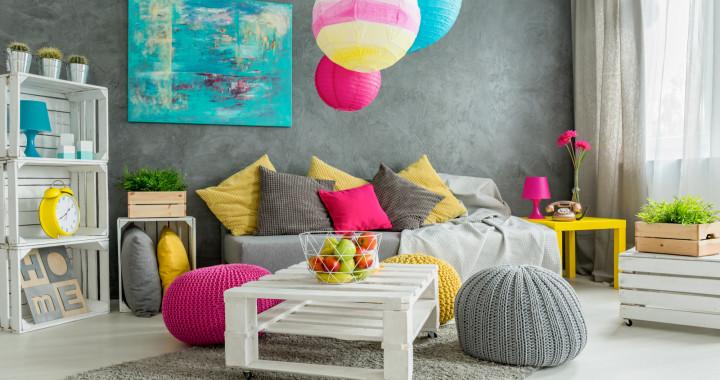 Léto na podlaze, ozdobte si interiér barvami a veselým designem kusových koberců - Creative Commons (shutterstock.com)
